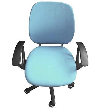 Frifer Housse De Chaise Bureau Couverture Elastique Pour Fauteuil Separee Protecteur D