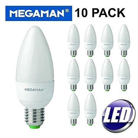 Bombillas led 143310 de MegamanLED, 5,5W, luz blanca