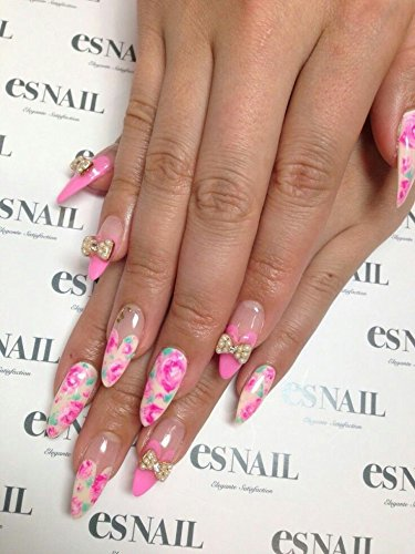 12 sets Pink rose buds red flower petals cherry blossom tree branch NAIL DECALS yellow flower blooming four leaf clover white flower bouquet NAIL ART STICKERS floral decorations NAIL WRAPS ()