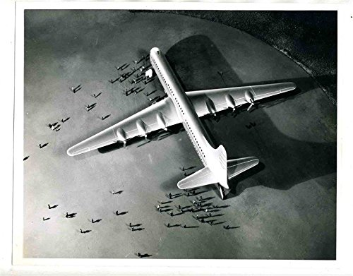 Consolidated Vultee Aircraft Co XC-99 Photo Lindberg Field San Diego California ()
