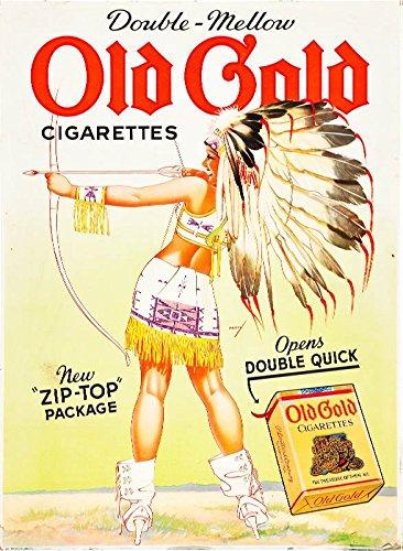 old cigarette poster - 9