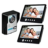 Amocam 9 Inch big Screen Wired Video Intercom Door Phone Kit IR Night Vision DoorPhone Waterproof Dual-way Talk...