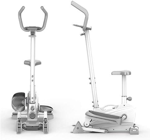 Elíptica 2-en-1 elíptica de la bicicleta estática-Fitness Cardio Pérdida de peso Entrenamiento Entrenamiento máquina for Home Fitness entrenamiento cardiovascular (Color : White , Size : Free size) : Amazon.es: Hogar