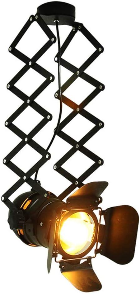 ☞ Luz de riel Lámpara de techo Retro Ajustable Hierro forjado ...