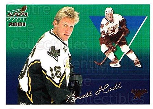 (CI) Brett Hull Hockey Card 2000-01 Aurora Pinstripes (base) 44 Brett Hull