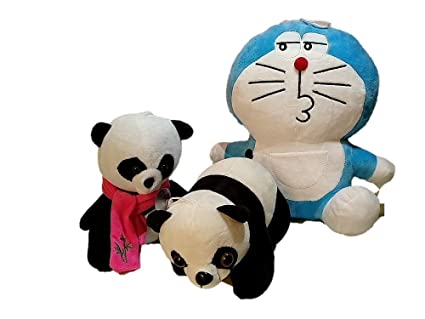 4d382225df08 Buy Generic Doraemon and Small Panda Soft Toys Online at Low Prices in  India - Amazon.in