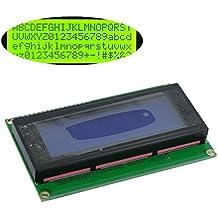 Solu ® 2004 20x4 Character LCD Display Module Hd44780 Controller//lcd Module for Arduino 20 X 4, Black on Green, Based on the Popular Hd44780 Controller// 2004 204 20x4 Character LCD Display Module Hd44780 Controller Green Blacklight