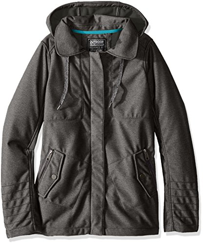 Hooded Jacket Charcoal - Outdoor Research Women's Oberland Hooded Jacket, Charcoal, Large
