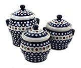 Polish Pottery Nature Canister Set