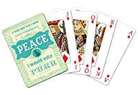 Tree-Free Greetings Standard Playing Card Deck, Universal Happiness Themed Cat Lover Art (15181)