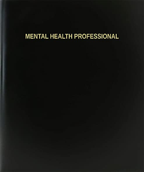 Amazon Com Bookfactory Mental Health Professional Log Book