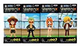 Piece World Collectable Figure ~ ONE PIECE FILM Z ~ Vol1 all four
