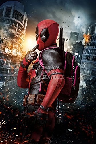 CGC Huge Poster GLOSSY FINISH - Marvel Deadpool Textless Mov