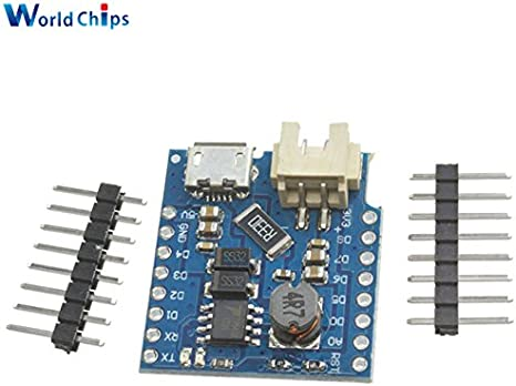 Battery Shield For WeMos D1 mini single lithium battery Charging /& Boost WT