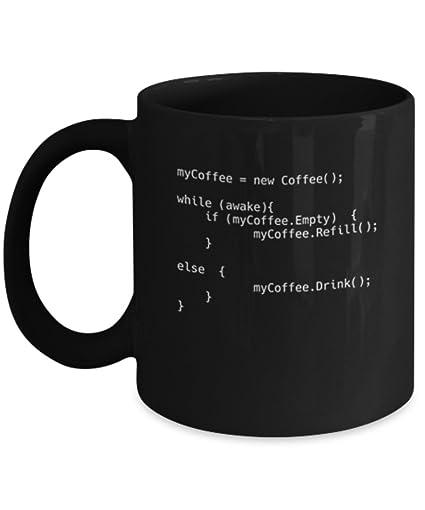 Coffee Script   11 Oz Programming Coding Gaming Software Engineer Hardware  Technician Genius Geek Nerd