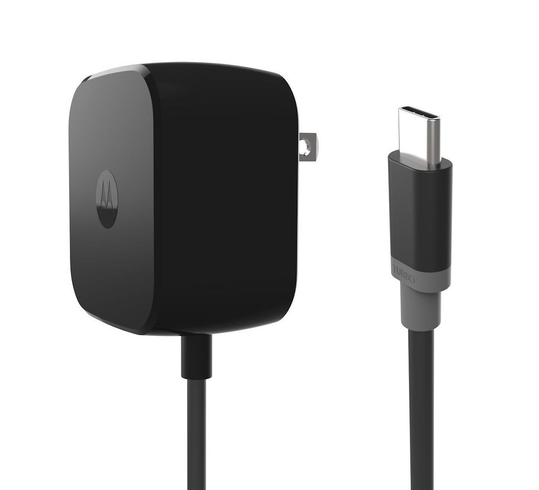 Motorola TurboPower 30 USB-C/Type C Fast Charger - SPN5912A (Retail Packaging) for Moto Z Force by Motorola (Image #1)