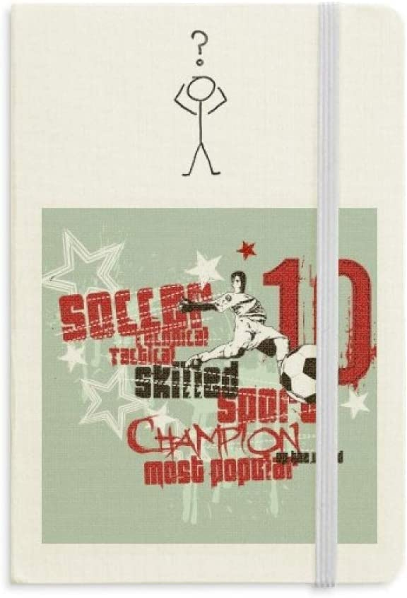 Graffiti Street Boy Soccer Skilled Best One Question Notebook Classic Journal Diary A5