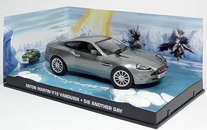 Amazon Com James Bond 1 43 Aston Martin Vanquish Die Another Day Toys Games