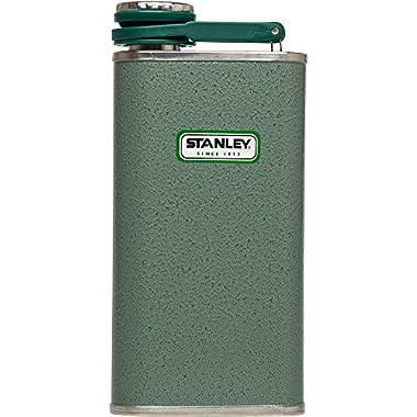 Stanley Classic Flask 8oz Hammertone Green