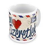Coffee Mug I Love You Hungarian Love Let