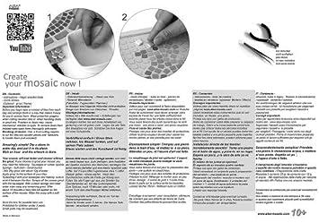 Mosaico Kit Cane 20x20 cm