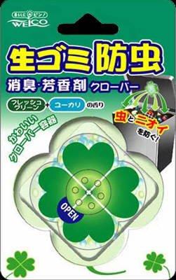 ウエルコ 生ゴミ防虫消臭芳香剤 クローバー×100点セット (4995860510843) B00SB67TK4