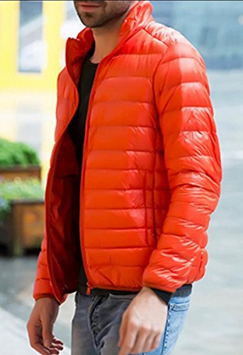 Outwear Colla Puffer amp;W 2 M Men's amp;S Stand PackablerCoat Warm Down Jacket FfHv8SHq