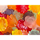 Awesome Blossoms Gummi Gummy Flowers Candy 1 Pound Bag