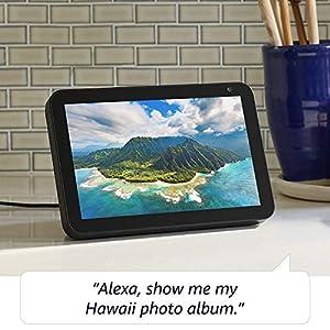 Introducing Echo Show 8 – HD 8″ smart display with Alexa – Charcoal