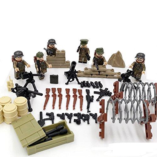 Mini WW2 Anti-Fascist Battle of Kharkov Eastern Front German SS Das Reich Army Blocks Military figure Compatible LegoINGlys