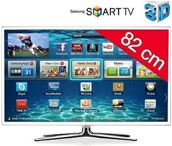 Samsung televisor LED Smart TV 3D UE32ES6710 HD TV 1080p, 32 Pulgadas (82 cm) 16/9,