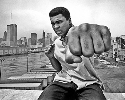 (Muhammad Ali Poster Photo Limited Print Sports Boxing Legend Sexy Celebrity Athlete Size 24x36 #1)