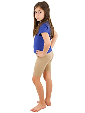 d56d3ad9ead Amazon.com  Vivian s Fashions Legging Shorts - Girls