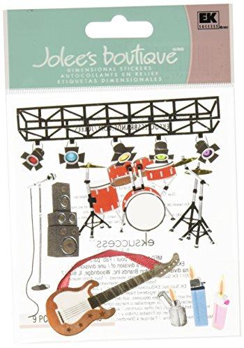 Jolee's Boutique Themed Ornate Stickers, Concert