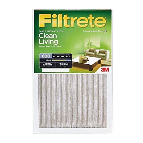 16x16x1, Filtrete Air Filter, MERV 11, by 3m (Pack of 6)