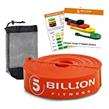 5 Billion Pull Up Bands, Exercise Resistance Bands – Mobility & Stretch Band – Powerlifting Bands, Perfect Weight Lifting, Strength Training, Powerlifting – Single Unit, Orange For Sale