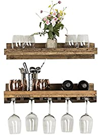 Shop Amazon Com Wall Mounted Wine Racks