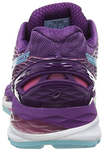 Flamingo Purple 3340 Asics Gel Running Morado 18 de Zapatillas Nimbus Mujer Turquoise q7qwav