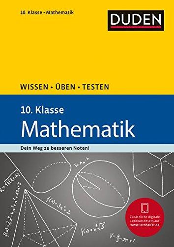 Wissen - Üben - Testen: Mathematik 10. Klasse: Id...