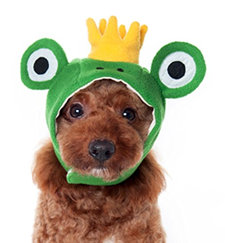Dogo Prince Frog Hat For Cat Dog Puppy Pet (S)