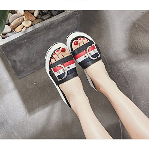 Sandals Fashion 5 Slippers Sports Shoes 5 Wear Summer Size Female aHYwUfnIq