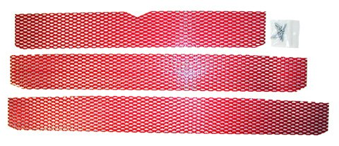 SCREEN KIT POLARIS CANDY RED, Manufacturer: DUDECK, Manufacturer Part Number: P-2 CANDY RED-AD, Stock Photo - Actual par by