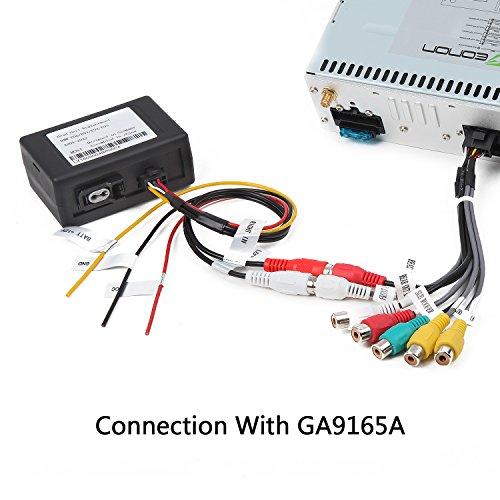 Eonon A0581 Optical Fiber Decoder Box Designed for GA9165A/GA91265B/GA9165B