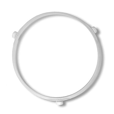 Spares2go - Soporte de 3 ruedas de cristal para microondas Zanussi ...