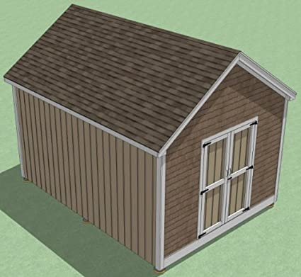 12x16 Shed Plans How To Build Guide Step By Step Garden