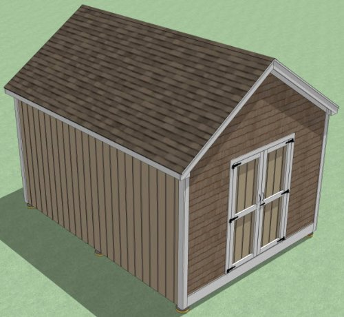 Review 12x16 Shed Plans -