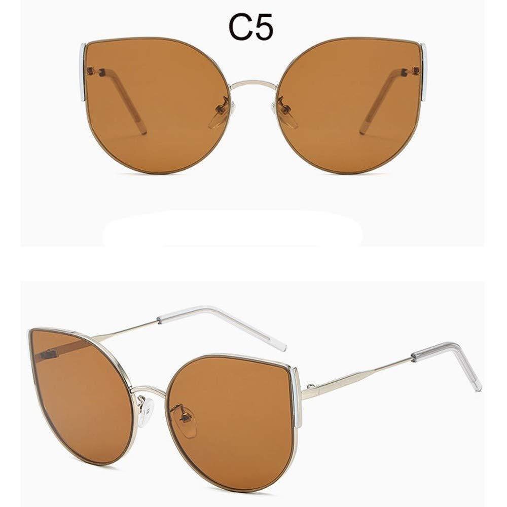 LAMAMAG Gafas de sol Cat Eye Sunglasses Mujer Negro Gafas De ...