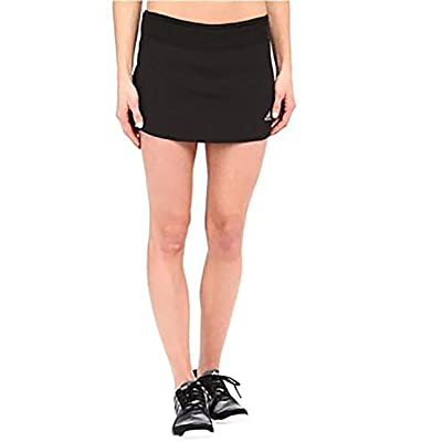 "Adidas Women's Running Response Skort (Soft Grey/Sunglo Pink) (6"")"