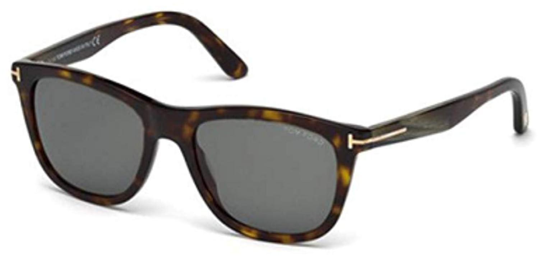 e0073d7214 Sunglasses Tom Ford TF 500-F FT0500-F 52N dark havana   green at Amazon  Men s Clothing store