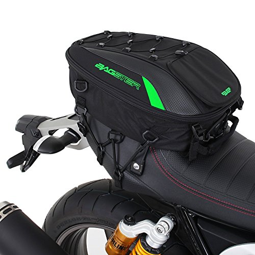 Tail Bag Yamaha XSR 900 Bagster Spider 4899V 15-23 liters green